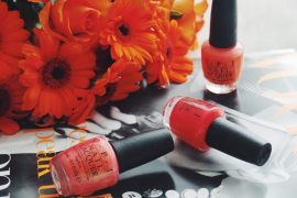 Opi, Nagellack, Vogue, Nailcar, Nail, Manicure, Chanel, Lippenstift, Lipstick, Orange, Trendfarbe, Dior, YSL, Yves Saint, Laurent, Pineapples and Pumps, Munich, Muenchen, Fashionblog, Modeblog, Beauty, Schönheit