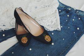 Ananas, Ananaspumps, Jeans, Strass, Perlene, Zara, Muenchen, Fashion, Mode, Trends, Modetrends, Fashiontrends,Fahion Blog, Blog, Modeblog, Modeblogger, Fashionblogger, Spitze, Pimkie, weiß, Fashionista