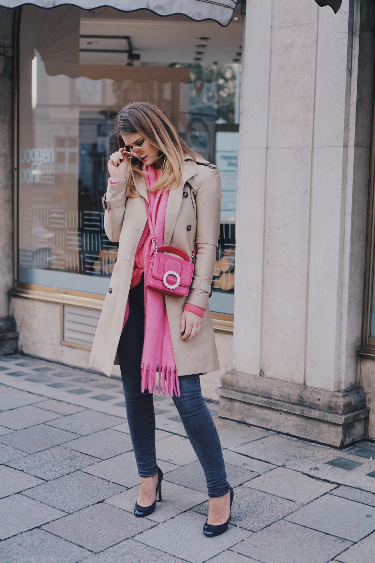 Spring Feeling – Trenchchoat und Pink Yarrow